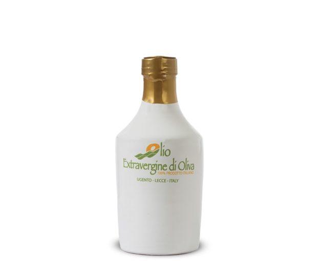 025 liter Extra virgin olive oil terracotta bottle mild taste Paiano