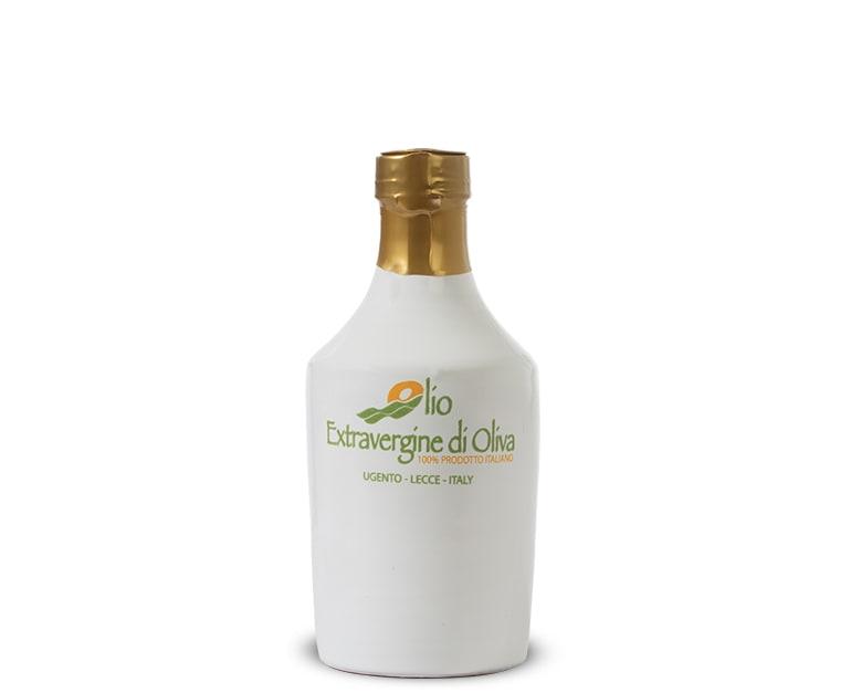 0,25 Liter Terracotta-Flasche extra natives Olivenöl mit milden Geschmack Paiano