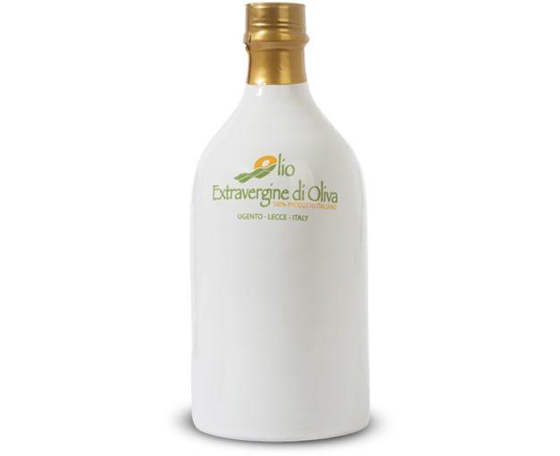 050 liter Extra virgin olive oil terracotta bottle mild taste Paiano