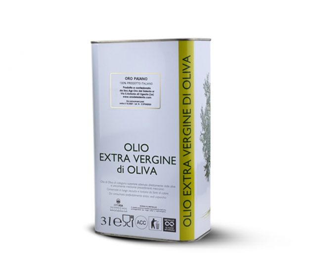 Extra virgin olive oil Paiano, delicate flavor 3L