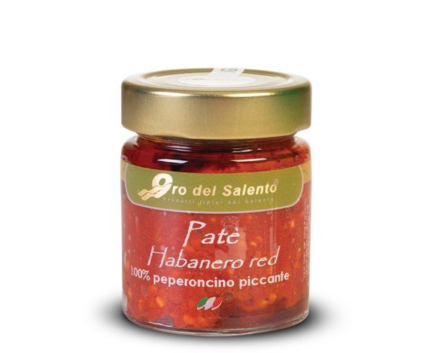 Habanero rosso pate di peperoncino