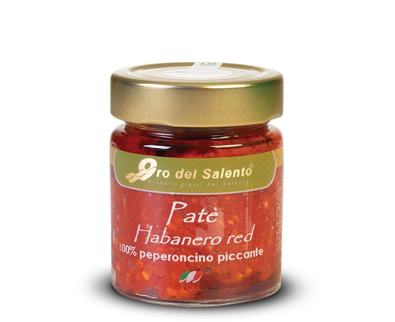 Roter Habanero Peperoncino Aufstrich