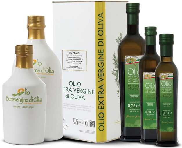 extra virgin olive oil from apulian olives
