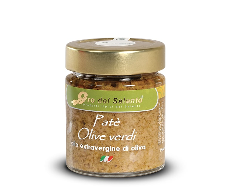 Green olives spread