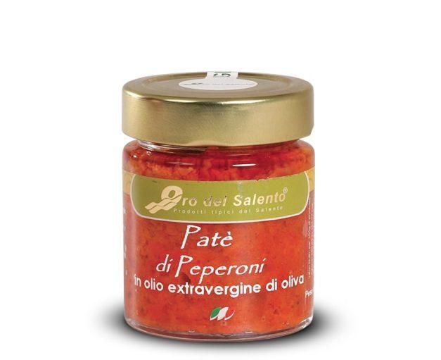 Paté di peperoncino piccante in olio extravergine