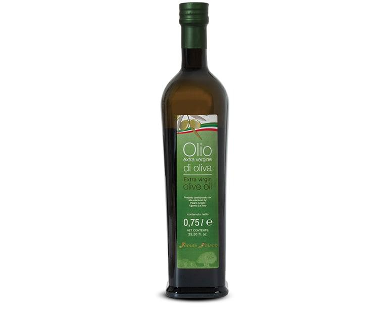 0,75 Liter Flasche extra natives Olivenöl mit milden Geschmack Paiano