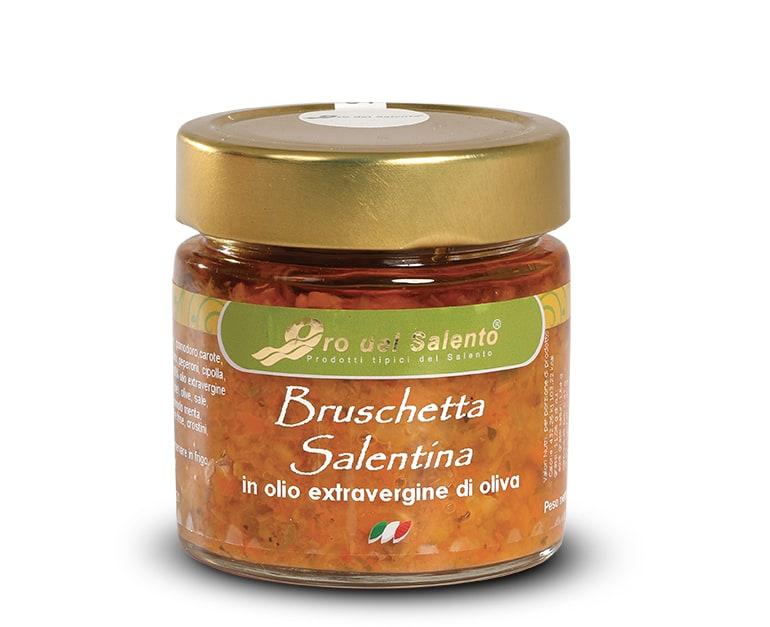 Bruschetta Salentina in extra virgin olive oil