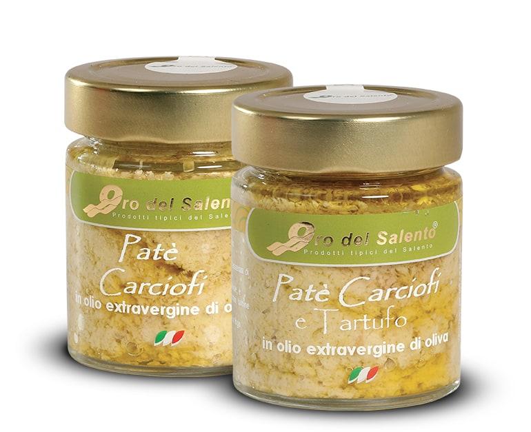 Crema paté di carciofi e carciofi e tartufo