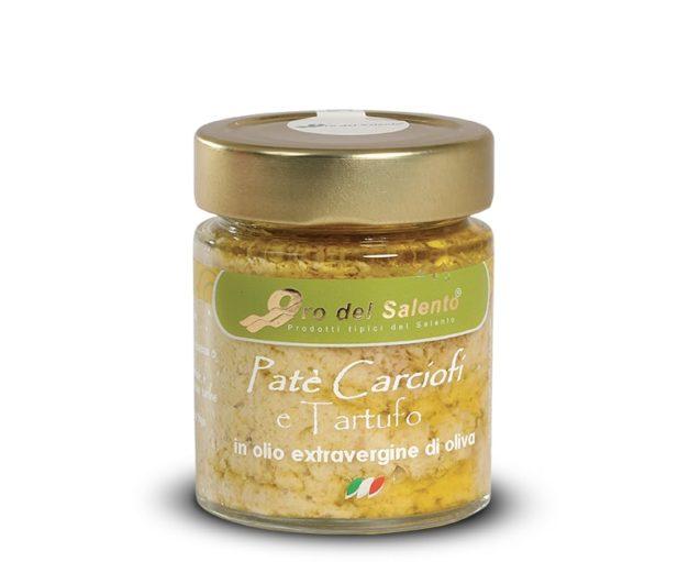 Crema paté di carciofi e tartufo