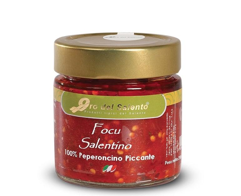 focu salentino peperoncino piccante in olio extravergine di oliva