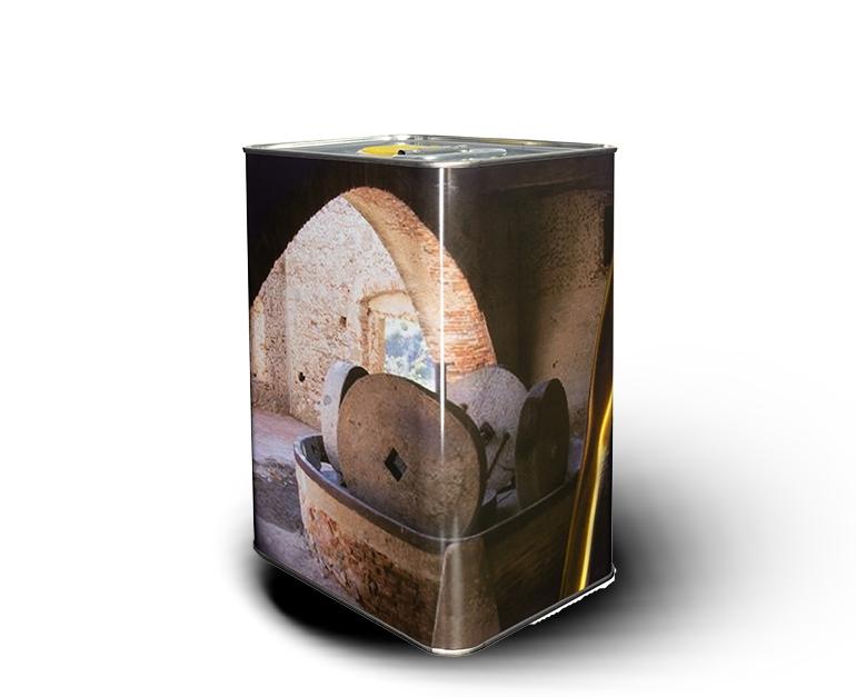 olio coratina prodotto tipico pugliese retro