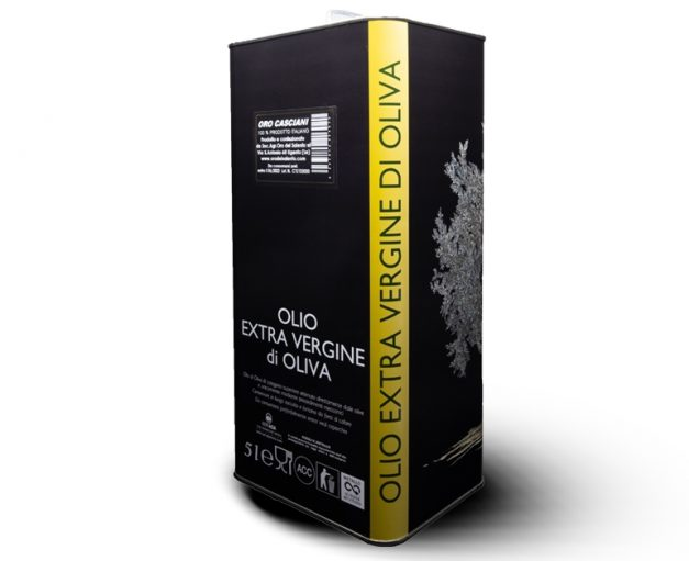 olio extravergine di oliva gusto deciso 5 litri