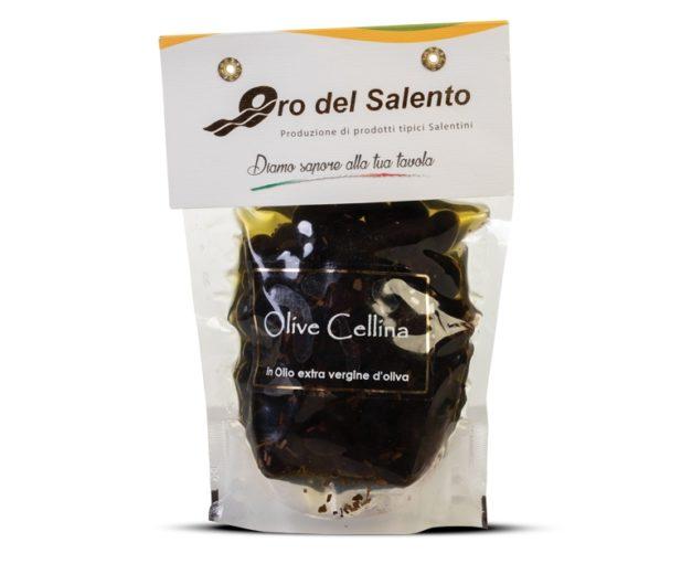 Olive cellina di nardò in olio extravergine