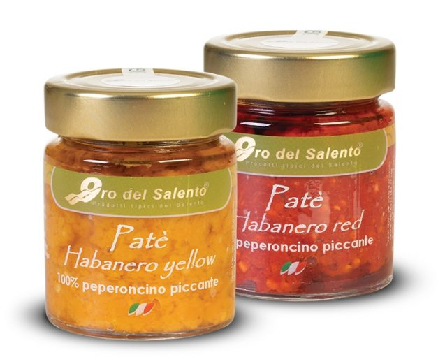 Spicy Habanero spread red or yellow