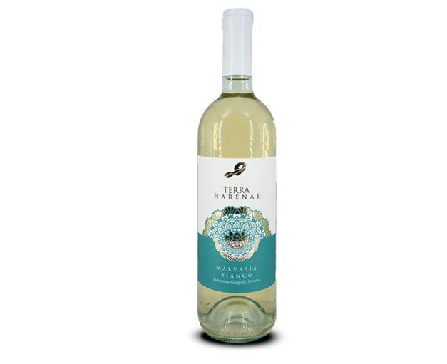 Vino bianco salento Malvasia IGT bottiglia